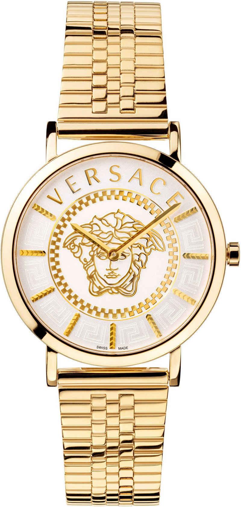 Versace Schweizer Uhr »V-ESSENTIAL, VEK401021«