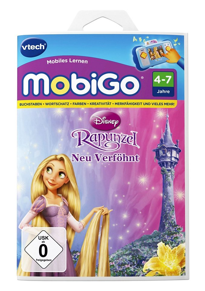 VTech MobiGo-Lernspiele, »Rapunzel«.