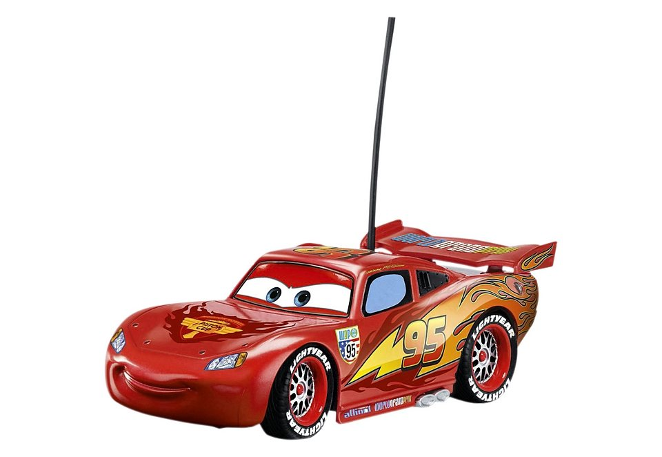 Dickie Toys RC-Auto, »Disney Cars - Lightning McQueen« in rot