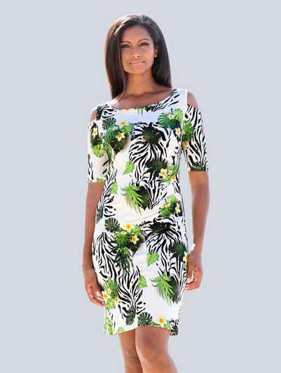 Alba Moda Strandkleid im Off-Shoulder Style
