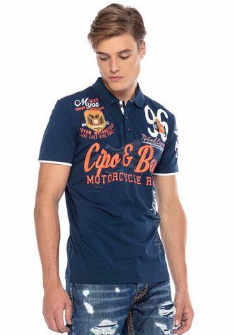 Cipo & Baxx Cipo & Baxx Polo marškinėliai »Motorcy...