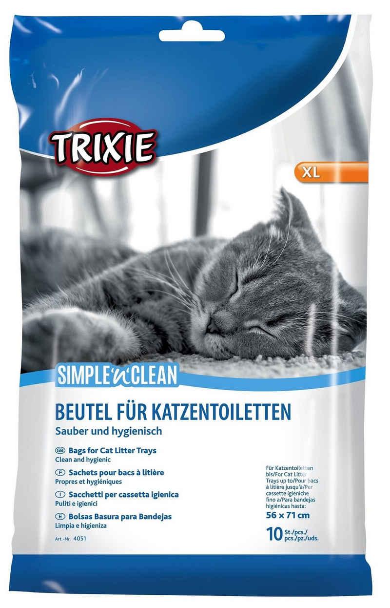 TRIXIE Katzentoilette »Beutel für Katzentoiletten XL, bis 56 x 71 cm, 10 Stück«