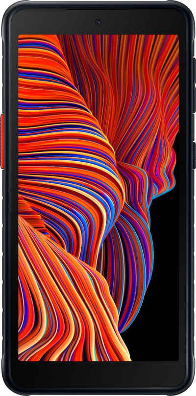 Samsung Galaxy-Xcover5 EE Smartphone (13,5 cm/5,3 Zoll, 64 GB Speicherplatz, 16 MP Kamera)