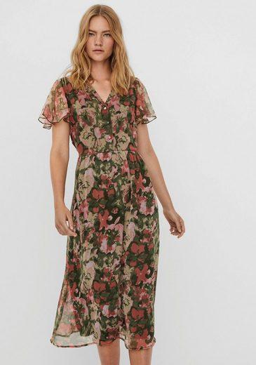 Vero Moda Chiffonkleid »VMLOA CALF CHIFFON DRESS«