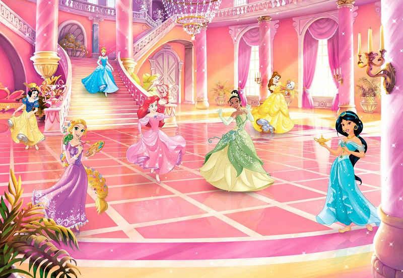Komar Fototapete »Princess Glitzerparty«, glatt, bedruckt, Comic, (Packung), ausgezeichnet lichtbeständig