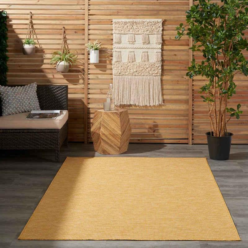 Teppich »Positano«, Nourison, rechteckig, Höhe 5 mm, In- und Outdoor geeignet, Wohnzimmer