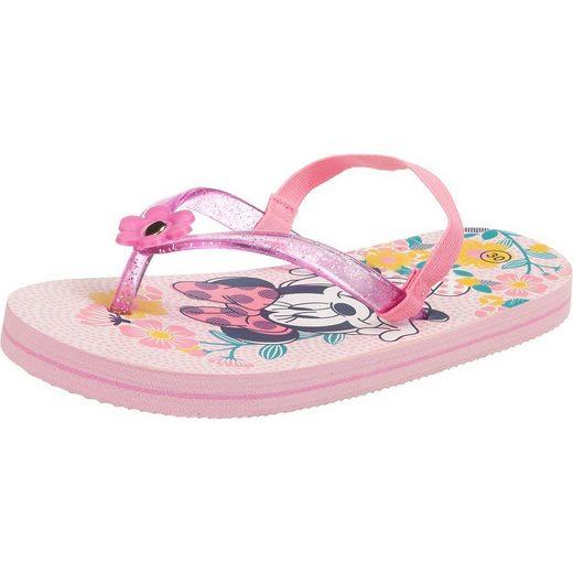 Disney Minnie Mouse »Disney Minnie Mouse Zehentrenner für Mädchen« Zehentrenner