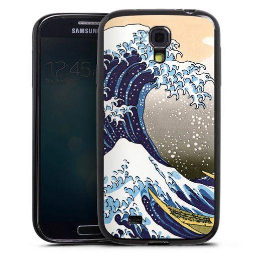 DeinDesign Handyhülle »Great wave of Kanagawa / Die große Welle vor Kanagawa« Samsung Galaxy S4, Hülle Katsushika Hokusai Kunst