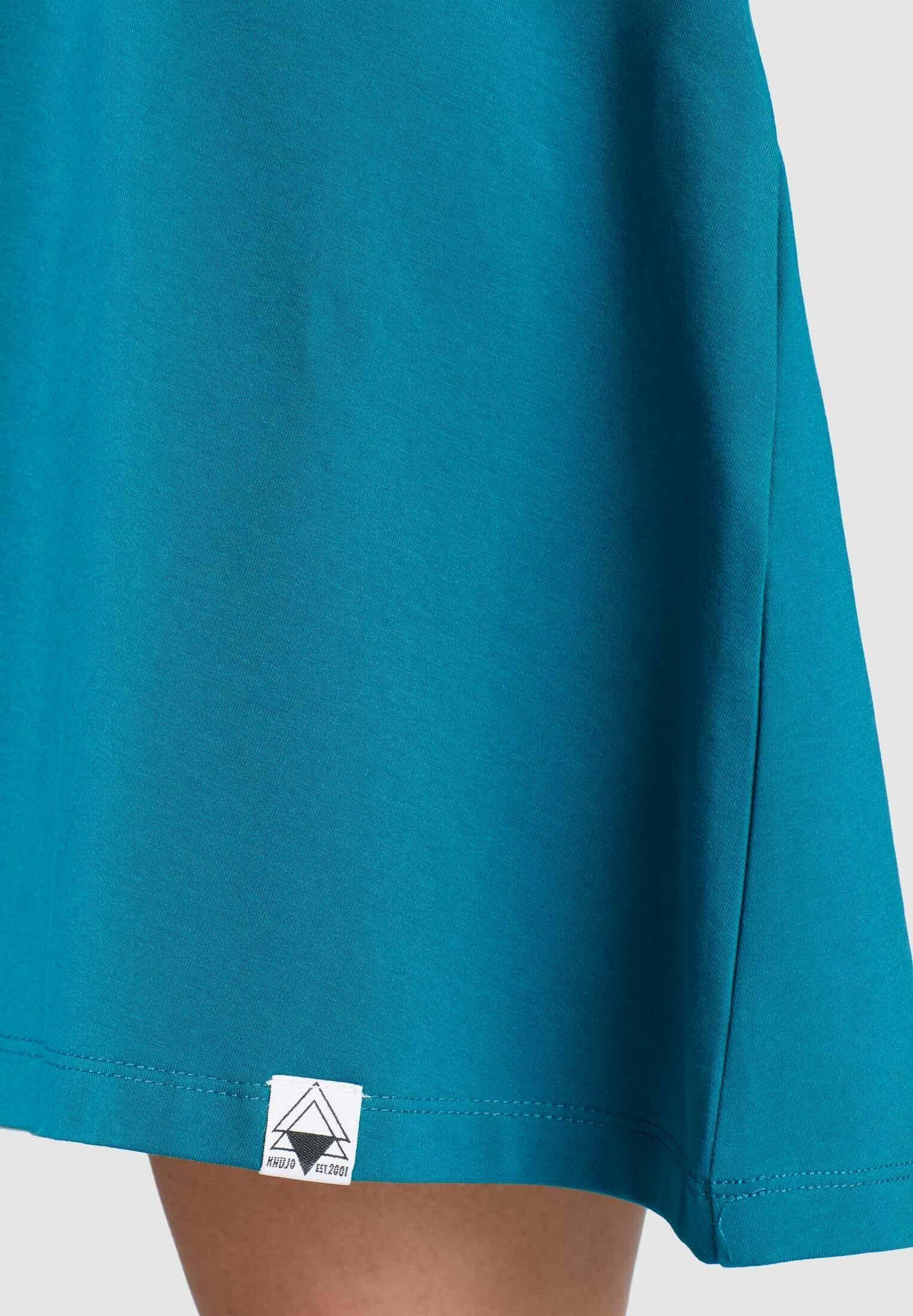khujo Jerseykleid BREALYNN aus Baumwollstretch in A-Linie EjH5im