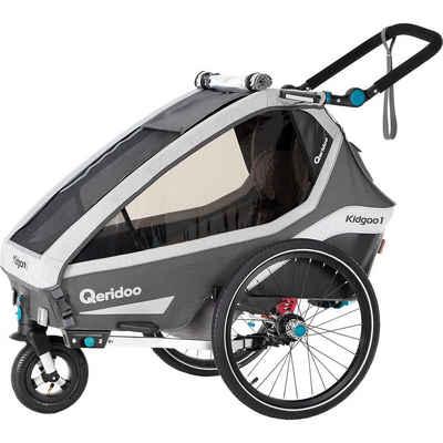 Qeridoo Fahrradkindersitz »Kidgoo1 2020 Grau«