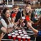 COSTWAY Campingtisch »Beer Pong Tisch«, tragbar, höheverstellbar, 240x60x55/70cm, Bild 3