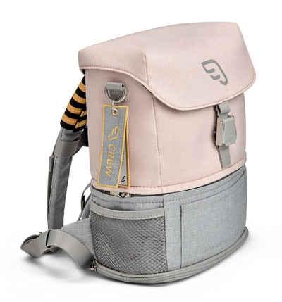 Stokke Kinderkoffer »JetKids™ by STOKKE®«, - Crew Backpack - Erweiterbarer Rucksack für Kinder von 2 bis 7 Jahre im kindgerechten Reise-Design - Farbe: Pink Lemonade
