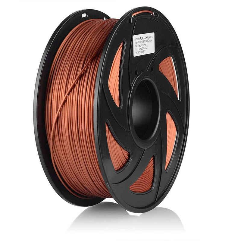 euroharry 3D-Drucker »3D Drucker Filament PLA+SILK 1,75mm 1KG verschiedene Farben«