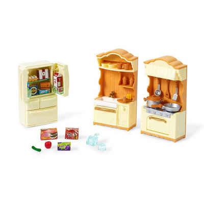 EPOCH Traumwiesen Puppenhausmöbel »Sylvanian Families Landhaus Küche mit Kühlschrank«