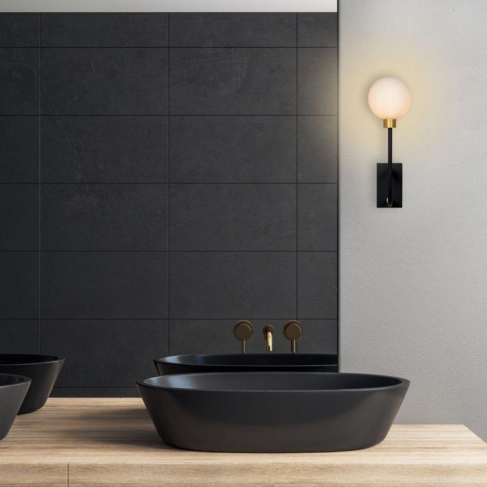click licht Spiegelleuchte »Badezimmer Wandleuchte Berend in Schwarz G20 3200  x«, Badezimmerlampen, Badleuchte, Lampen für das Badezimmer online kaufen  ...