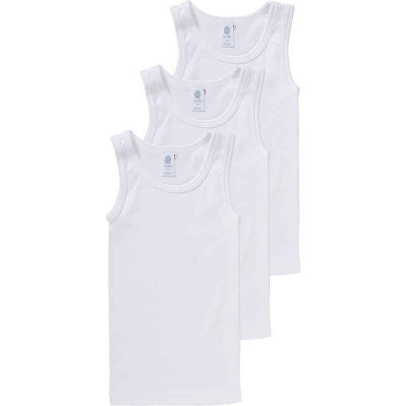 Sanetta Unterhemd »Unterhemden 3er-Pack für Jungen, Organic Cotton«