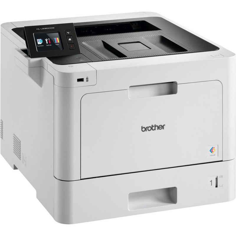 Brother HL-L8360CDW, USB, LAN, WLAN Multifunktionsdrucker