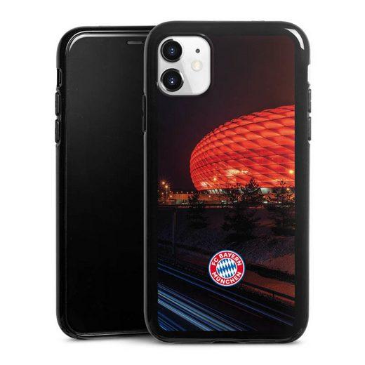 DeinDesign Handyhülle »Allianz Arena bei Nacht FCB« Apple iPhone 11, Hülle FCB Stadion FC Bayern München