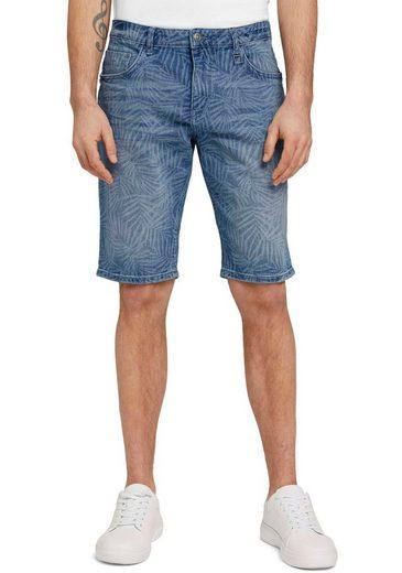 TOM TAILOR Shorts mit Alloverprint