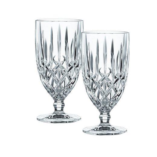Nachtmann Gläser-Set »2x Noblesse 2er Set 102645 Biertulpe / Eistulpe«, Kristallglas