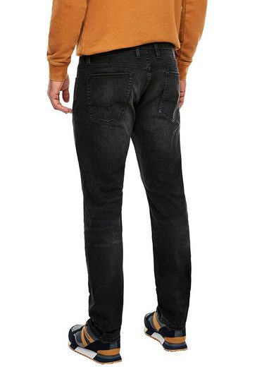s.Oliver Slim-fit-Jeans »KEITH« mit authentischer Waschung