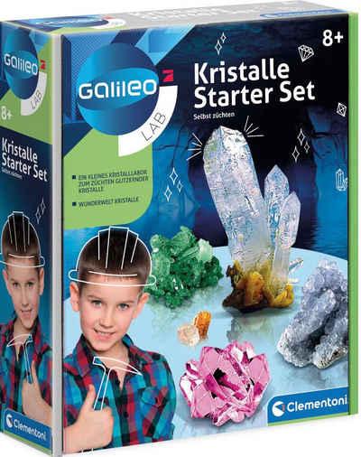 Clementoni® Experimentierkasten »Galileo Kristalle selbst züchten, Starter-Set«, Made in Europe