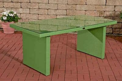 CLP Gartentisch »Avignon«, aus Polyrattan geflochten