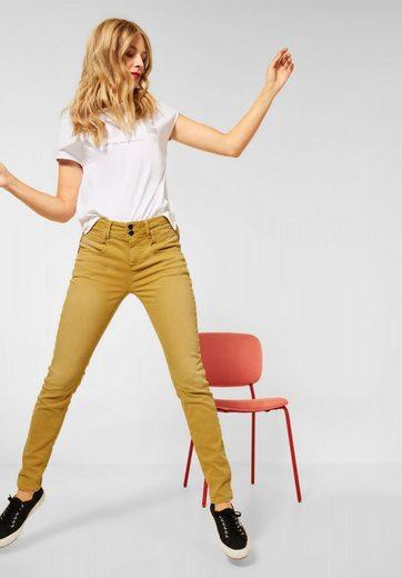 STREET ONE High-waist-Jeans »York« Taschen