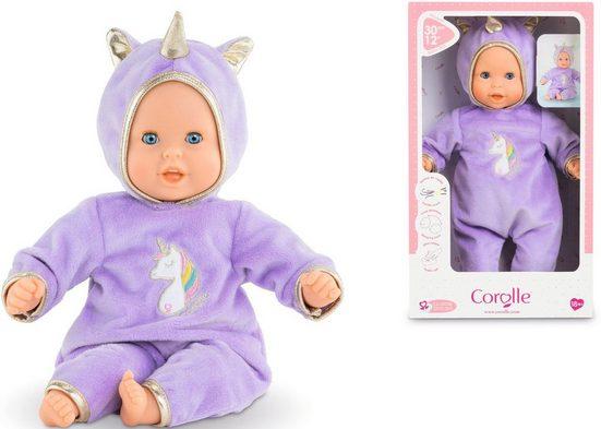 Corolle® Babypuppe »Mon premier poupon, Calin Einhorn«, mit Vanilleduft