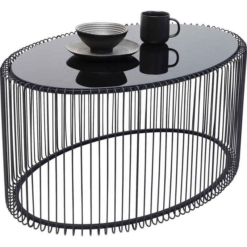 KARE Beistelltisch »Couchtisch Wire Uno Schwarz 60x90cm«