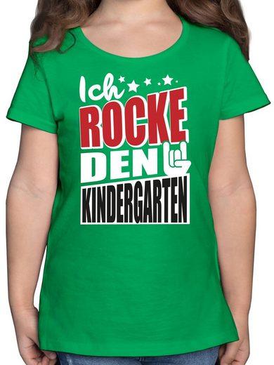 Shirtracer T-Shirt »Ich rocke den Kindergarten - Mädchen Kinder T-Shirt«