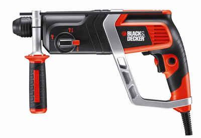 Black + Decker Bohrhammer »KD990KA«, 230 V, max. 980 U/min, (Set), 850W