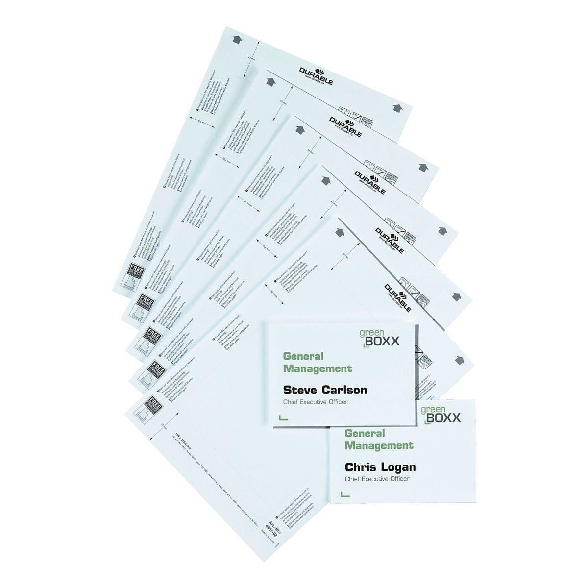 Durable Einsteckschilder »485102«