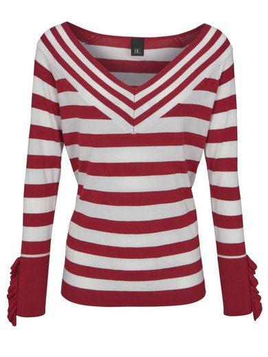heine CASUAL Pullover mit herzförmigen Ausschnitt