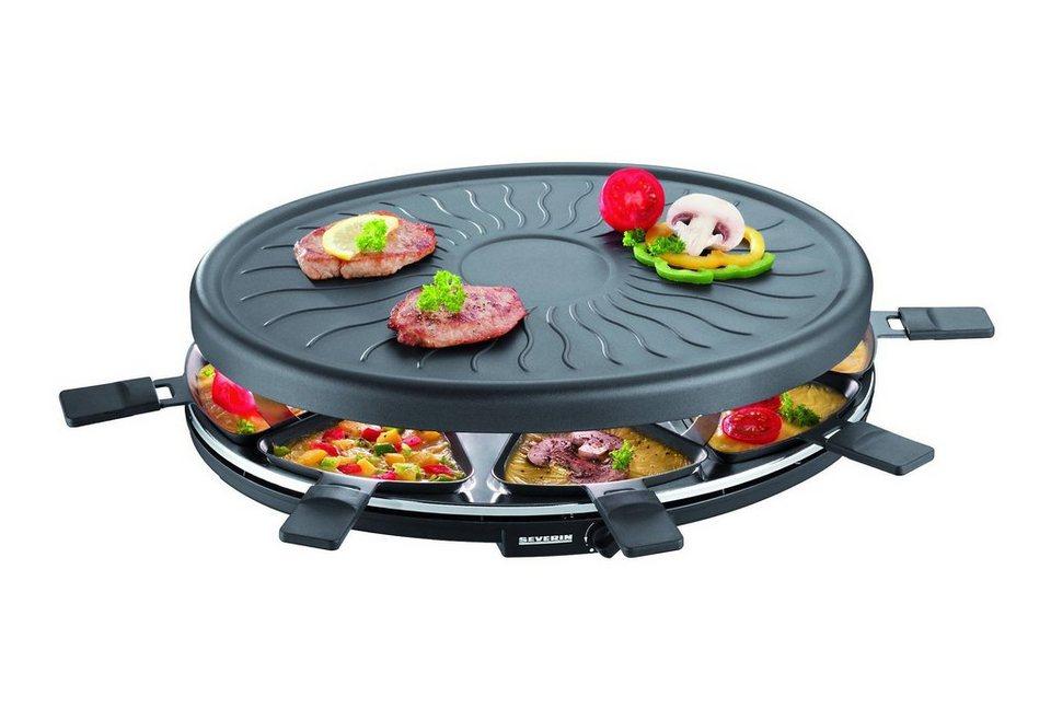 Severin Elektrogrill Bedienungsanleitung : Severin raclette rg 2681.902 8 raclettepfännchen 1100 w 1100 watt