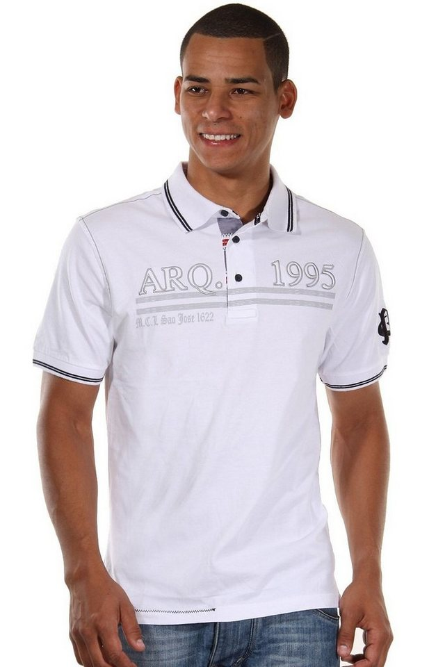 MCL Poloshirt in weiss
