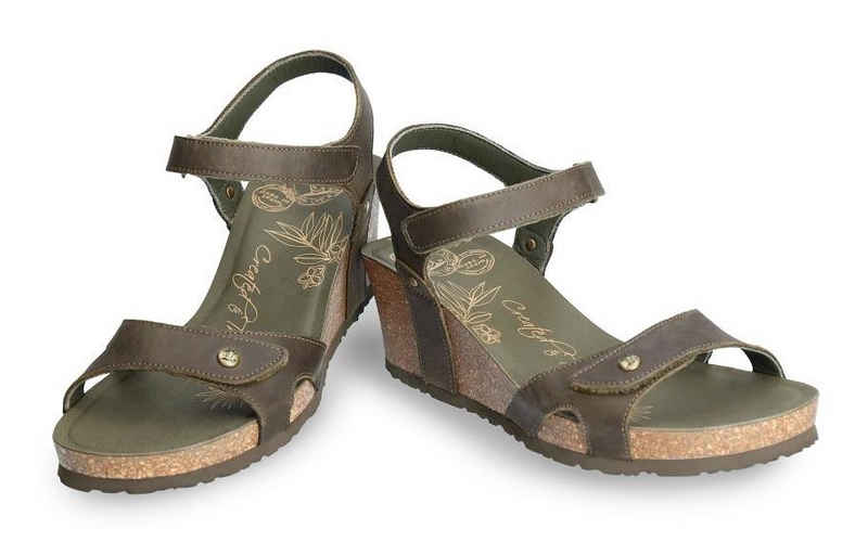Panama Jack »Julia Basics« Sandalette mit praktischen Klettriemchen