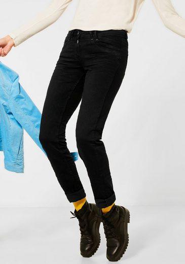 Cecil Loose-fit-Jeans »Scarlett« mit trendigem Crash-Effekt