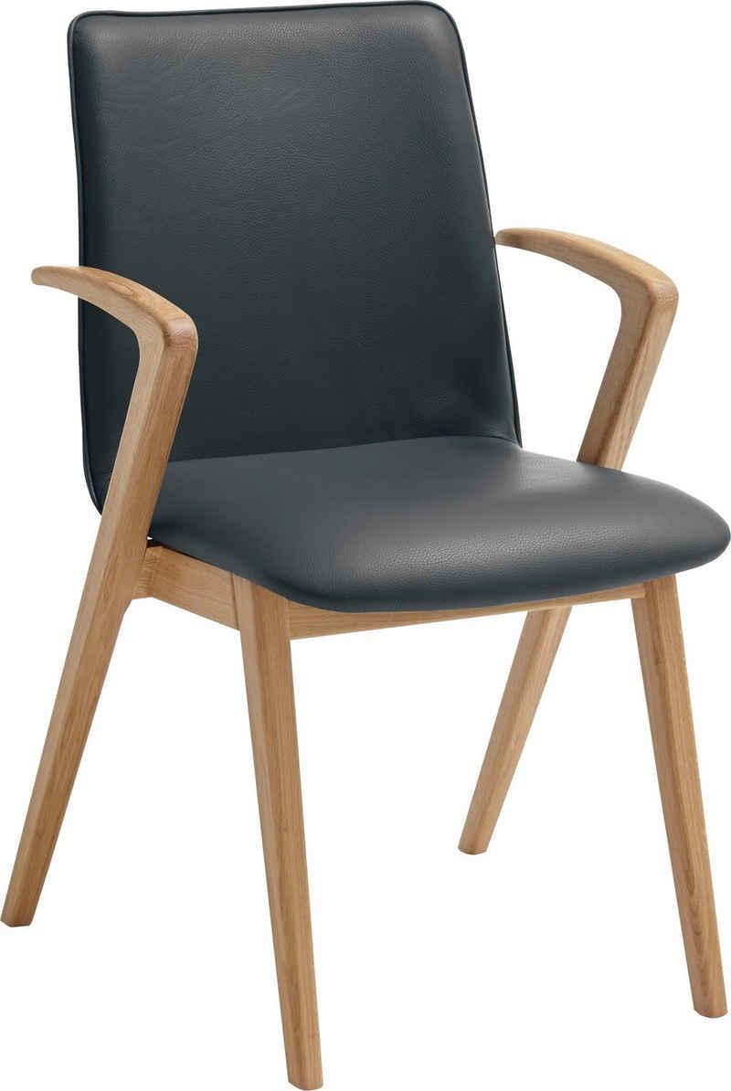 VENJAKOB Esszimmersessel »KATE«, Armlehnstuhl mit hochwertigen Sitzbezügen