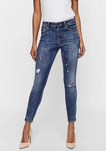 Vero Moda Skinny-fit-Jeans »VMTILDE ANKLE ZIP DSTR«