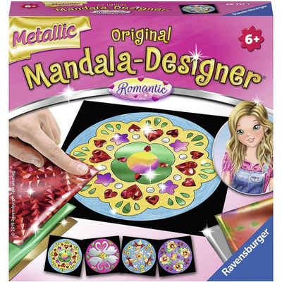 Ravensburger Malvorlage »Metallic Mandala-Designer®, Romantic«