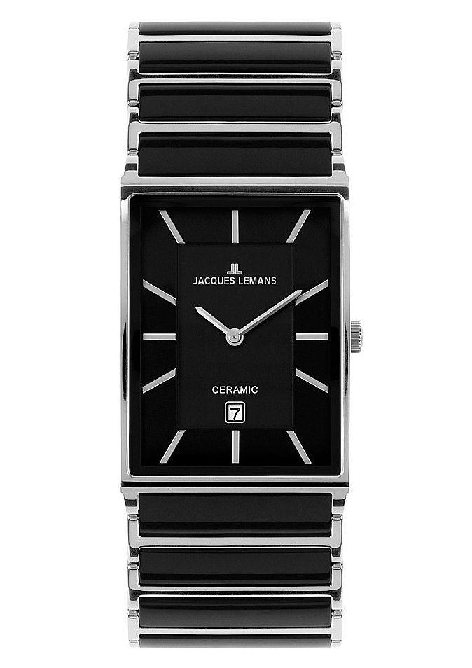 Jacques Lemans Classic Quarzuhr »Jubiläumsaktion, 1-1593A« in schwarz