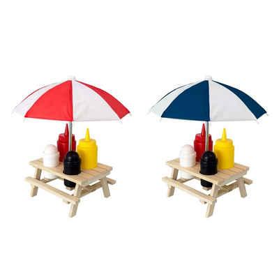 HTI-Living Gewürzständer »Menage Set 6-teilig Picknicktisch«, (6-tlg)
