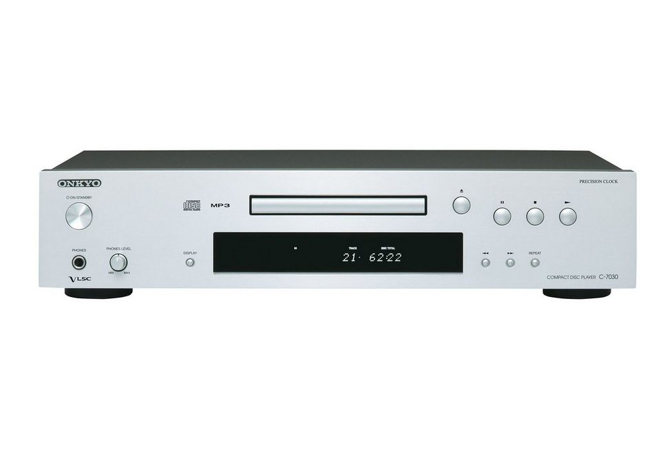 Onkyo C-7030 Compact Disc Player CD-Player in silber