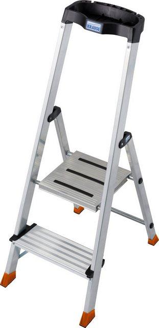 Krause Stufen-Stehleiter Safepro 2 Stufen