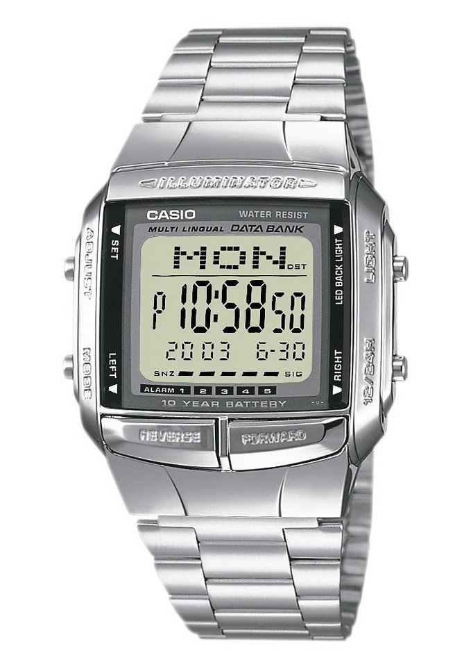 Casio Collection Chronograph »DB-360N-1AEF« in silberfarben