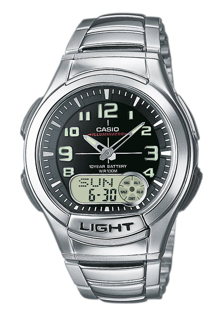 Casio Collection Chronograph »AQ-180WD-1BVES«