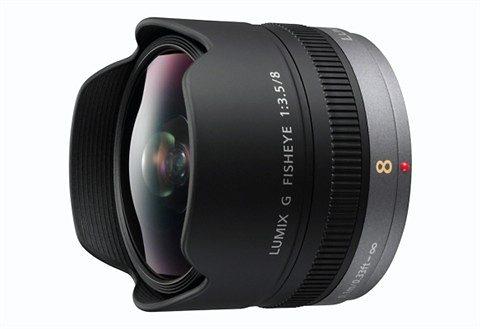 Panasonic H-F008E Lumix G Fisheye 3,5/8mm Fisheye Objektiv
