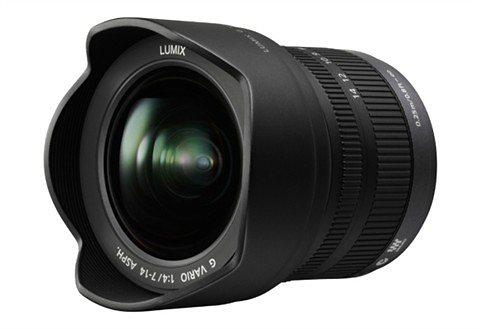 Panasonic H-F007014E LUMIX G VARIO 7-14mm Superweitwinkel Objektiv in schwarz