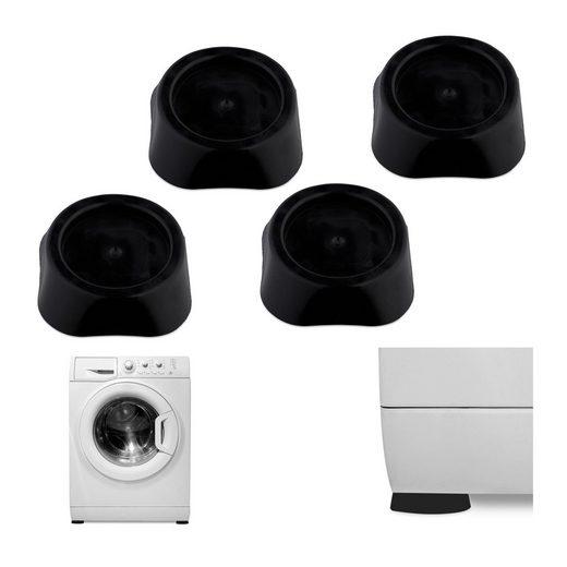 relaxdays Vibrationsdämpfer »Schwingungsdämpfer Waschmaschine 4er Set«